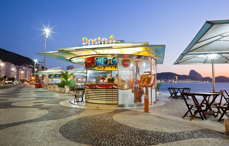 Experience the best waterfront kiosks in rio for Design hotel kuba