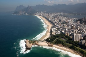 Aerial view Brazil